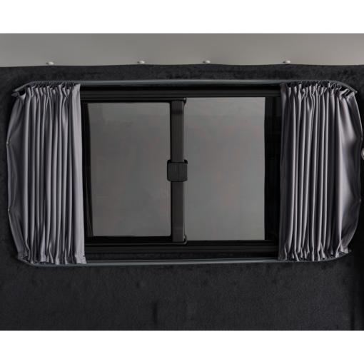 VW Transporter T5 Curtains Barn Door Set