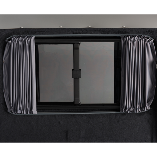 Ford Transit Custom Blackout Curtain Drivers Rear Quarter SWB